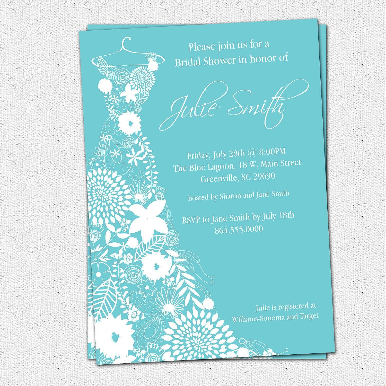 Bridal Shower Free Templates Invitation