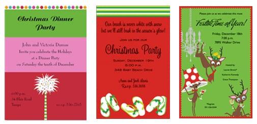 Christmas In July Birthday Invitation