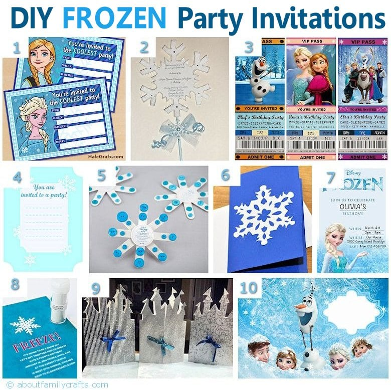 Cool Birthday Invitations Pinterest