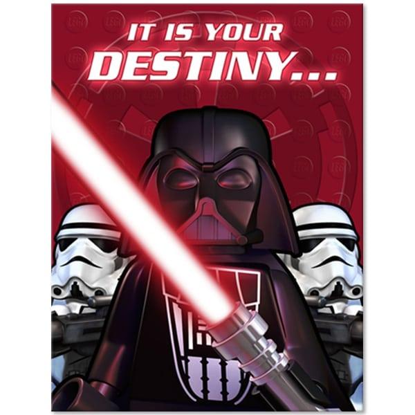 Downloadable Star Wars Invitations