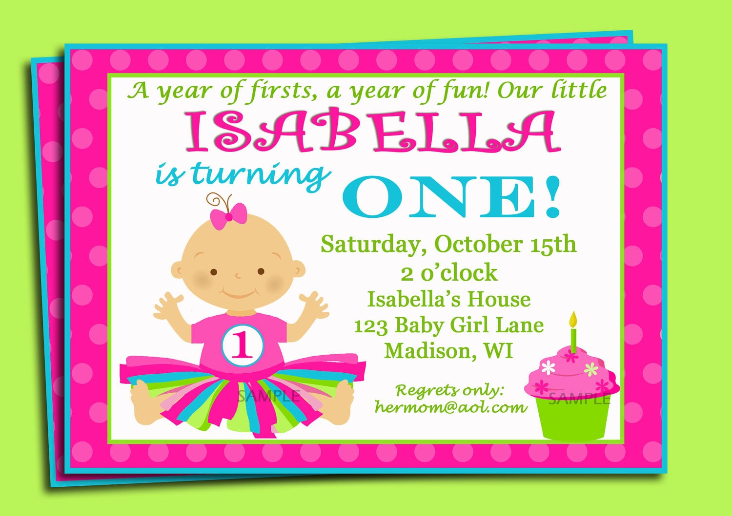 Free 1st birthday invitation template stopboris Images