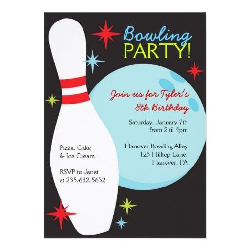 Free Bowling Invitations