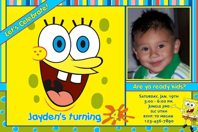 Free Digital Bday Invitation