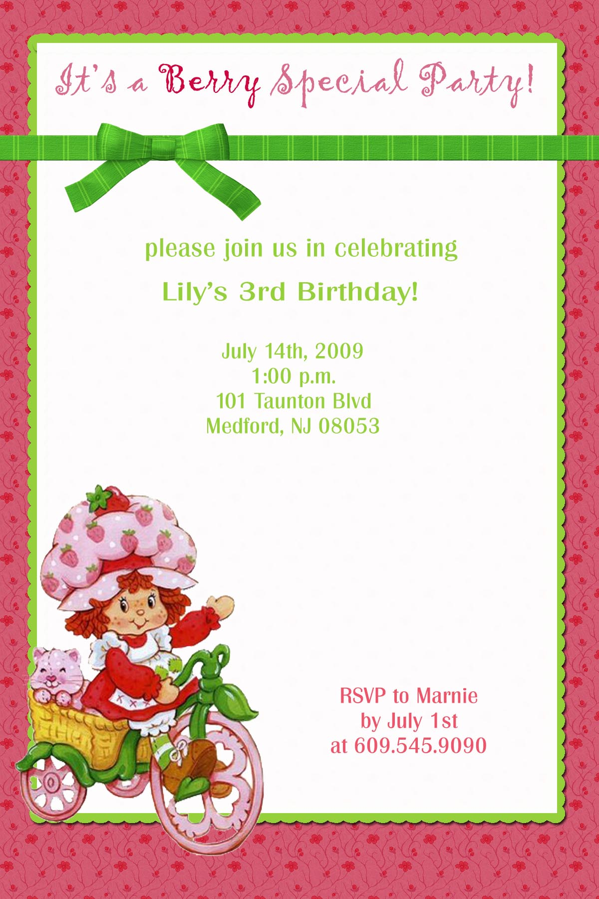 Free Electronic Birthday Invitations
