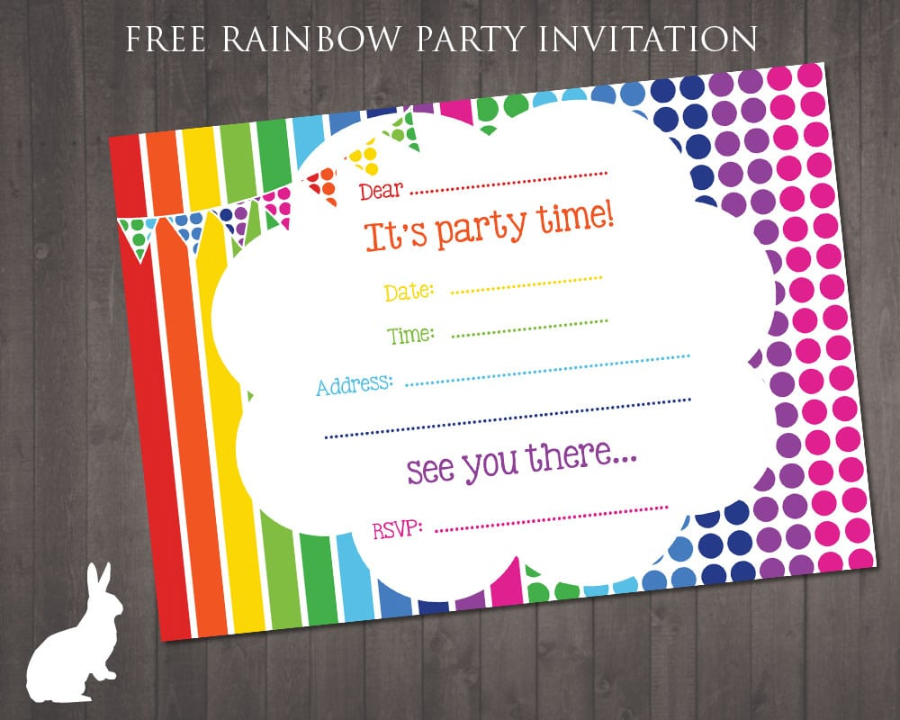 Free Invitation Cards For Birthday Party