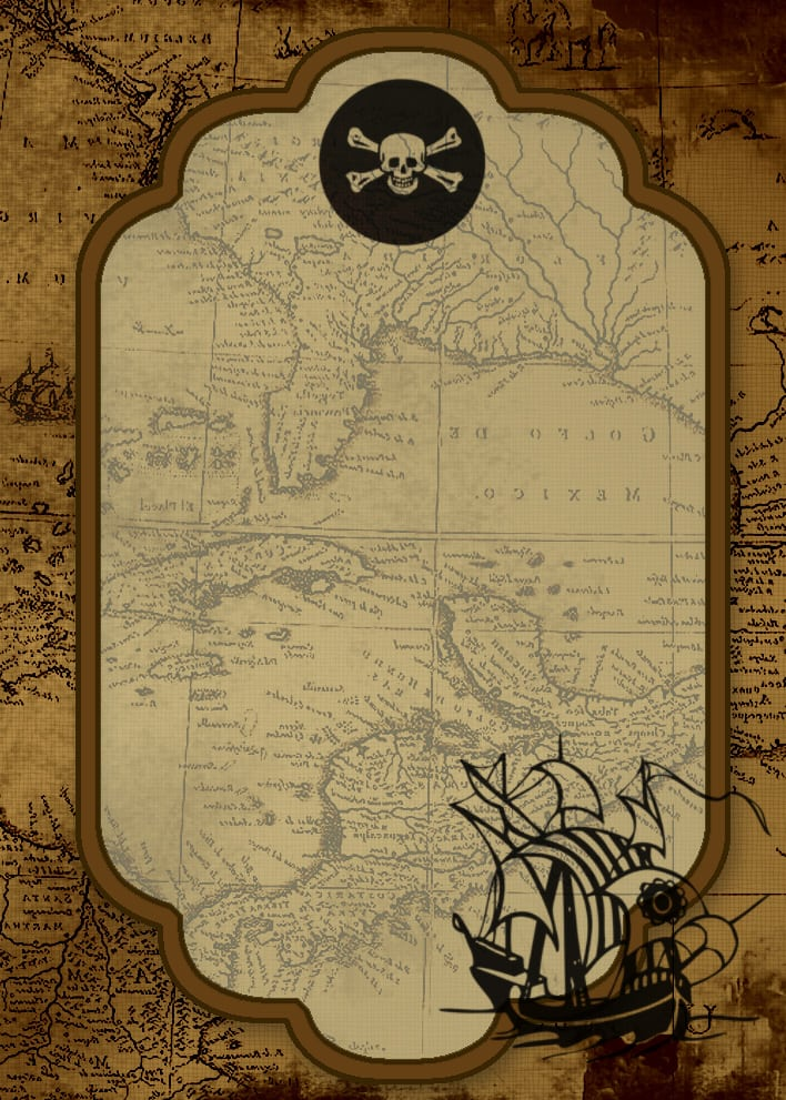 Free Pirate Party Invitation Download
