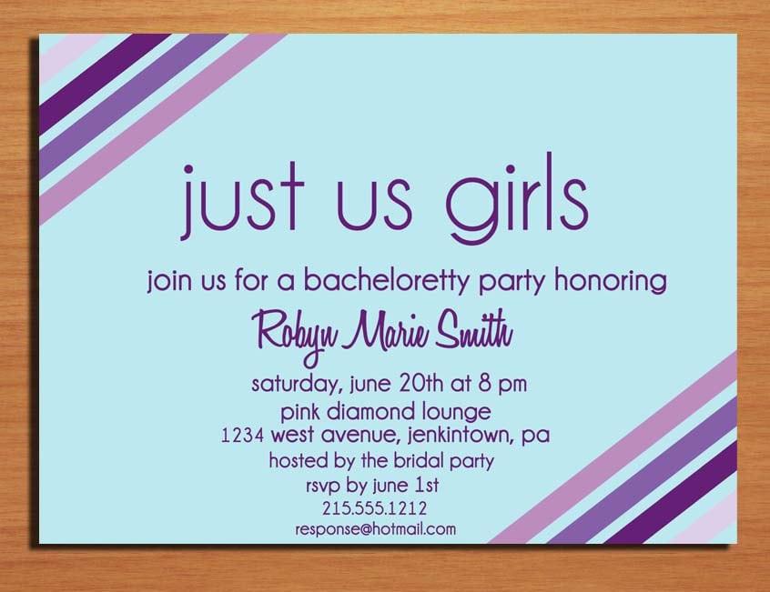 Free Printable Bachelorette Invitations Templates