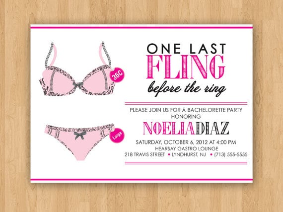 Free Printable Bachelorette Party Invitations Templates