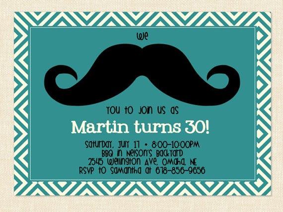 Free Printable Birthday Invitation For Men