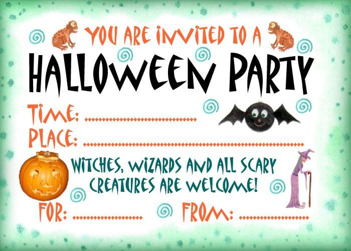 free downloadable halloween invitations selo l ink co