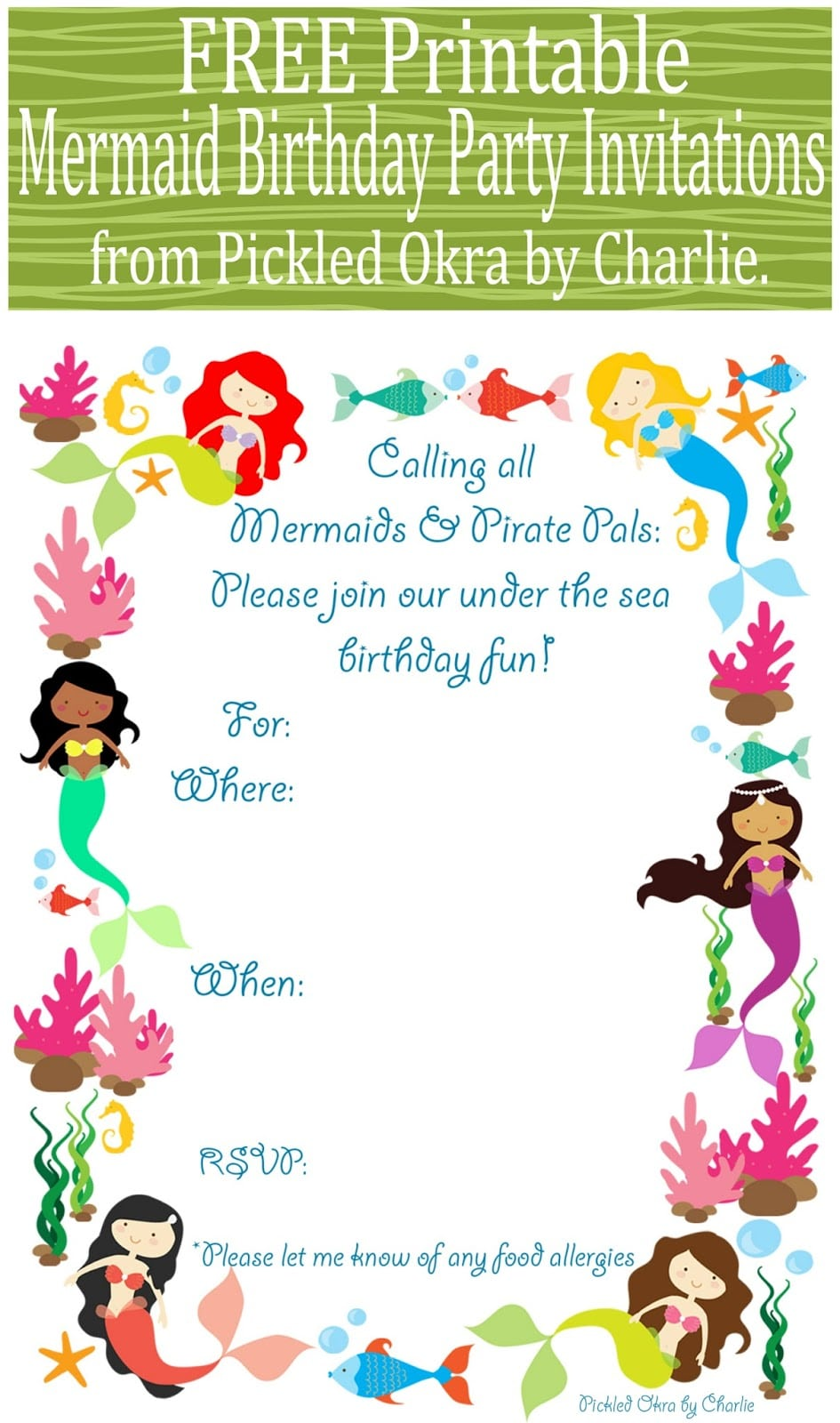 Free Printable Mermaid Birthday Invitation. Family Tree Template Google Docs. Missing Person Flyer. Bake Sale Flyer. Volleyball Poster Ideas. Tutoring Flyer Template. Church Financial Statements Template. Toy Drive Flyer Template Free. Graduation Suits For Guys