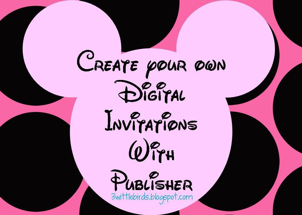 Free Printable Minnie Mouse Invitation Template