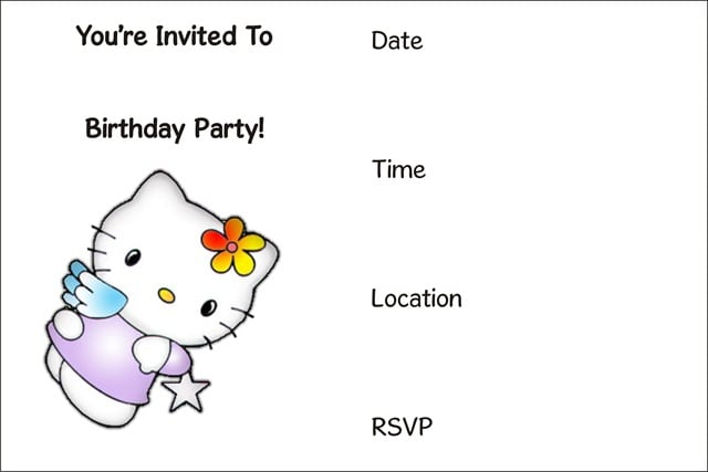 It is a picture of Comprehensive Printable Invitations Free No Download