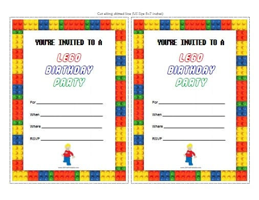 Free Printable Transformers Birthday Invitation Cards
