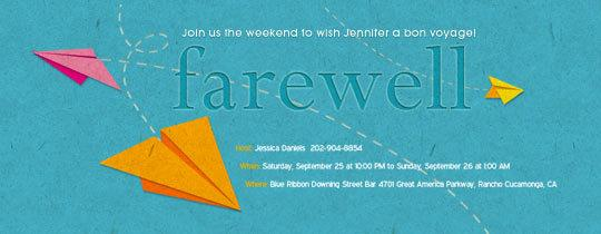Farewell Flyer Template Pertaminico - Party invitation template: going away party invitation templates