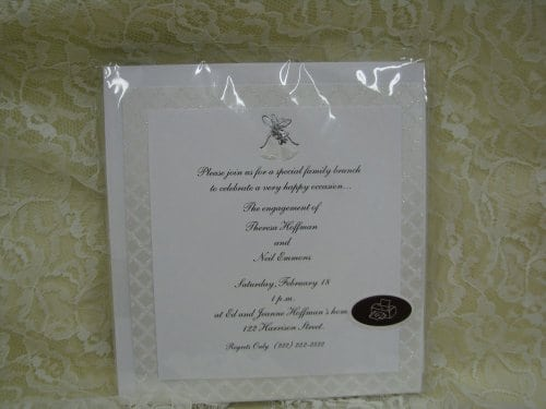 hallmark wedding invitation