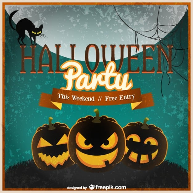 Halloween Invitation Template Free Downloads