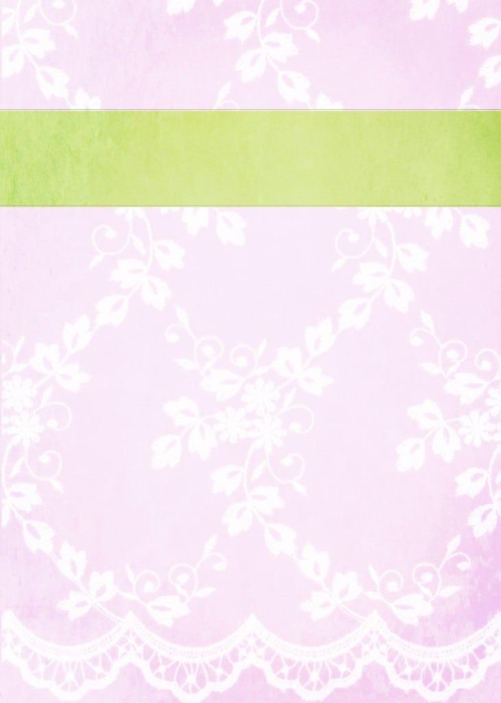 High Tea Invitation Free Download