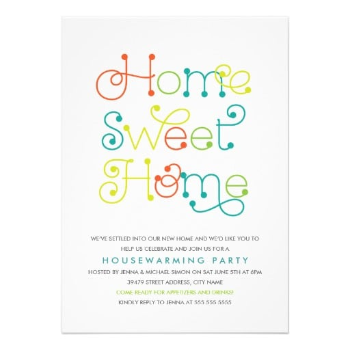 Housewarming invitation cards free download for Housewarming party invites free template