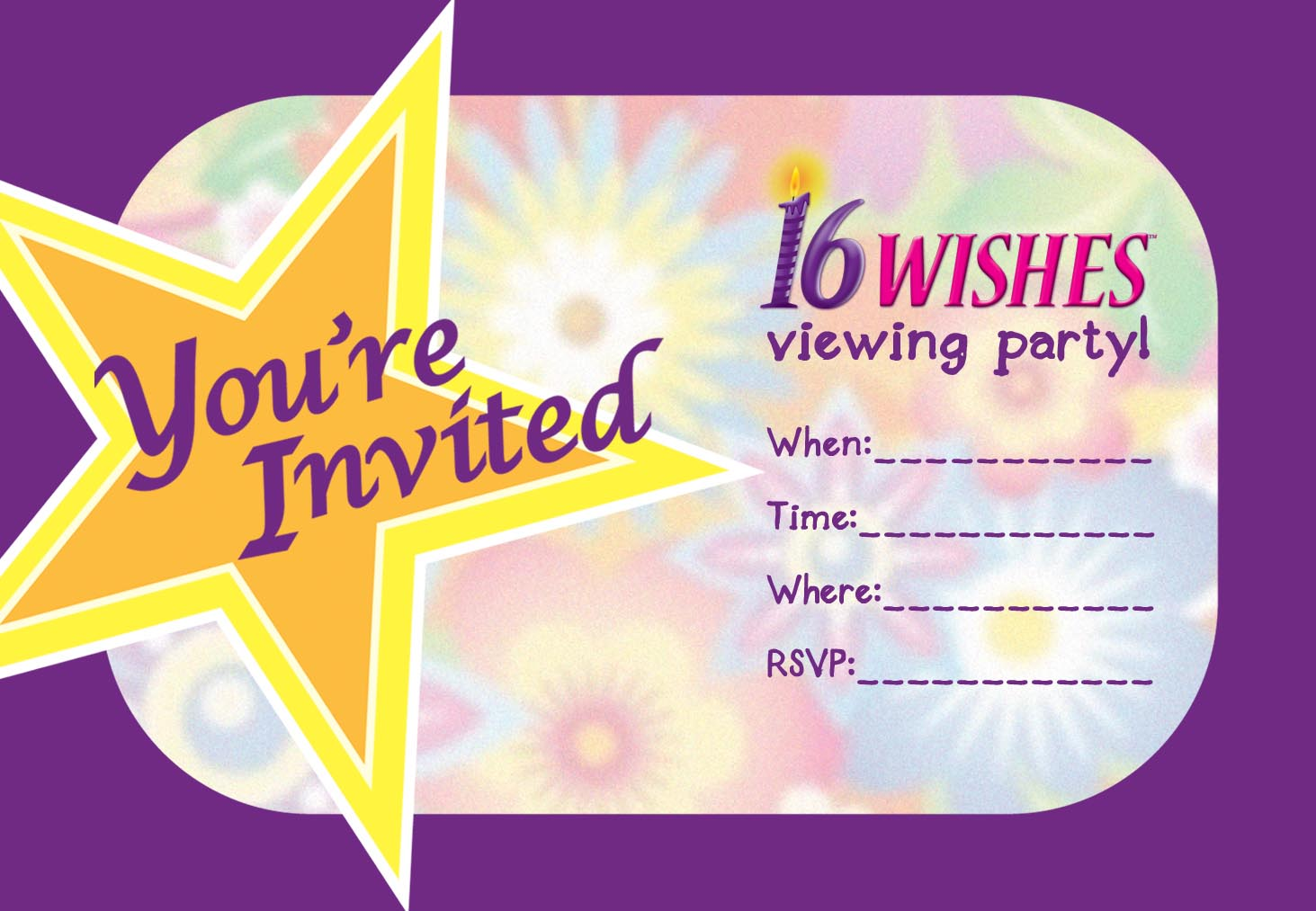 How To Download Template For 16th Birthday Invitation