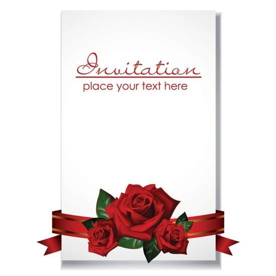 Invitation Card Template Psd