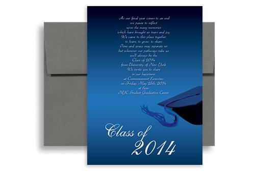 Invitation For Graduation Ceremony Template
