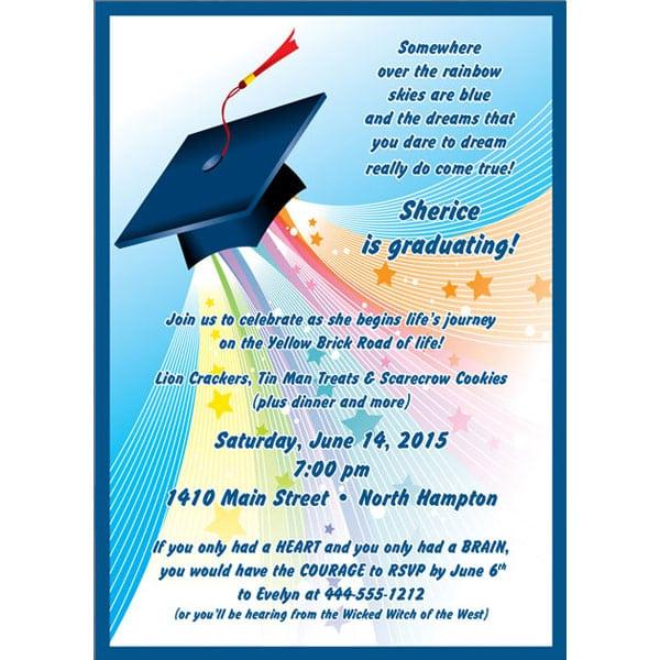 Kinder Graduation Party Invitation