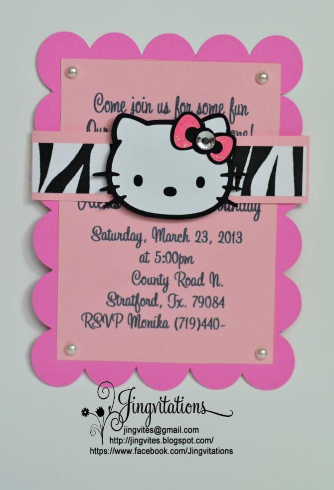 Leopard Print Heel Invitation Free Template