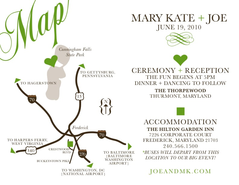 Maps For Invitation Cards