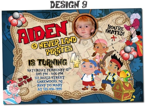 Pirates Party Invitations Printable