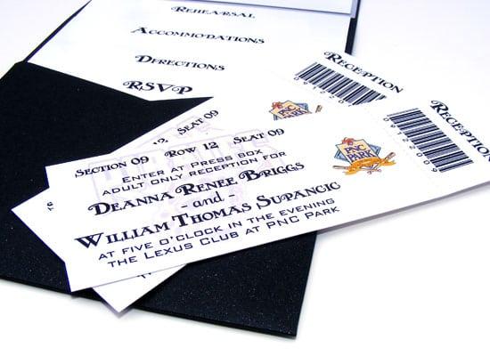 Pirates Themed Invitation