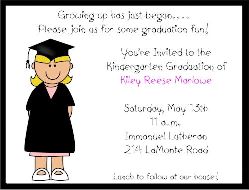 Preschool graduation invitation template pre k or kindergarten preschool graduation invitation free template graduation filmwisefo