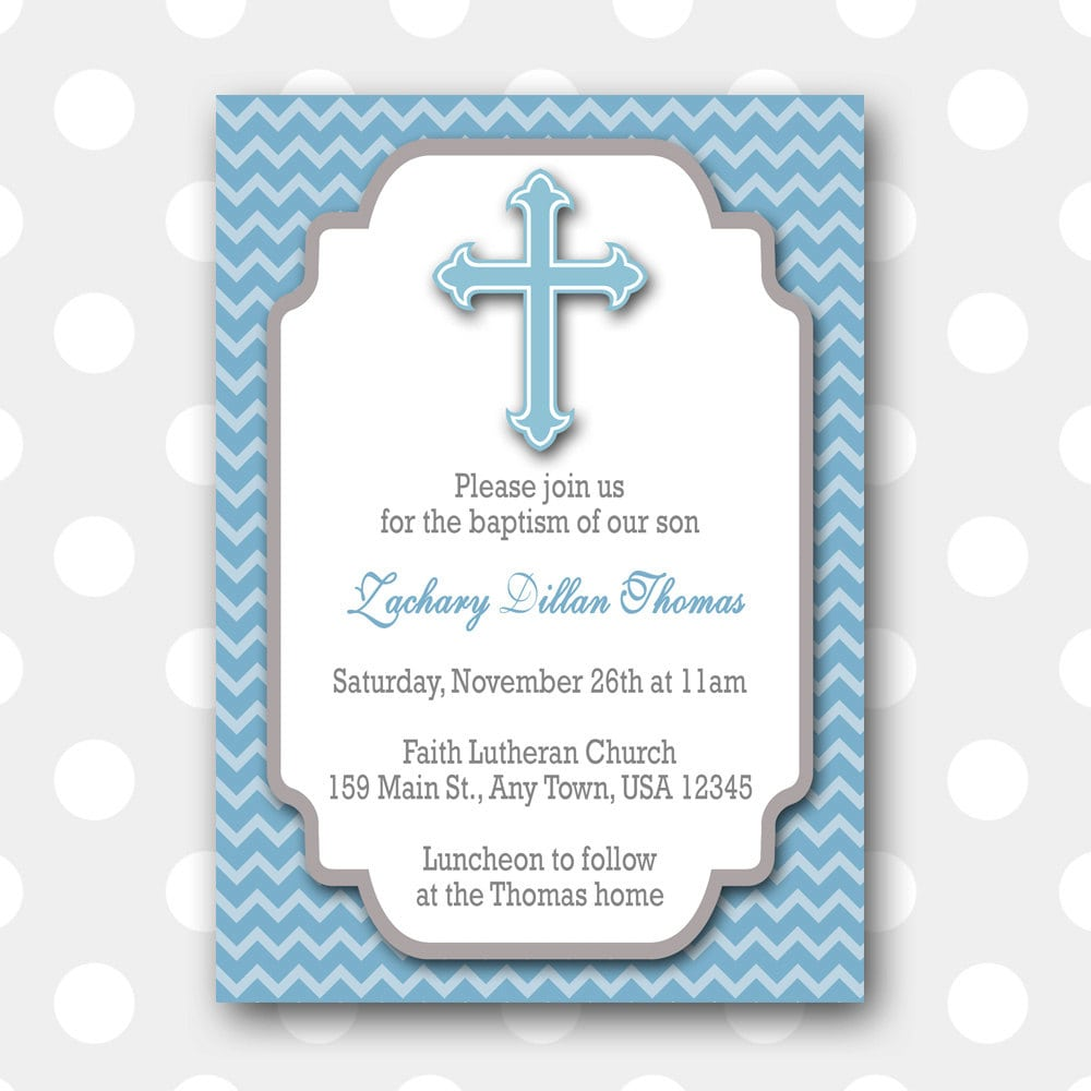 Free baptism invitation templates printable