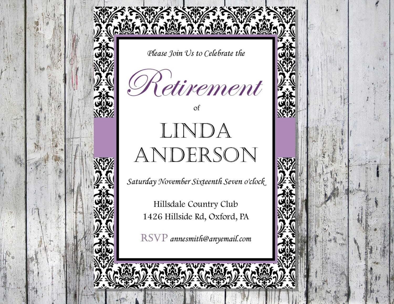 Retirement Invitations Free Printables