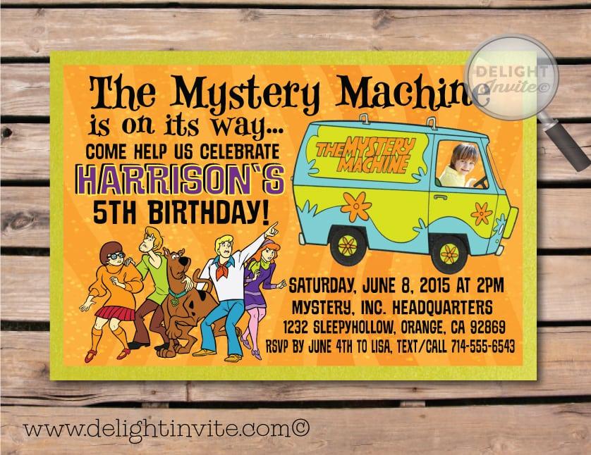 Scooby Doo Party Invitation Templates Free