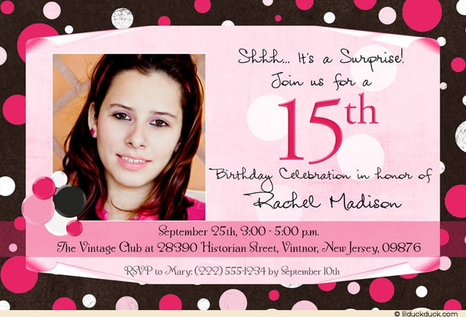 Teenage Birthday Invitation Wording