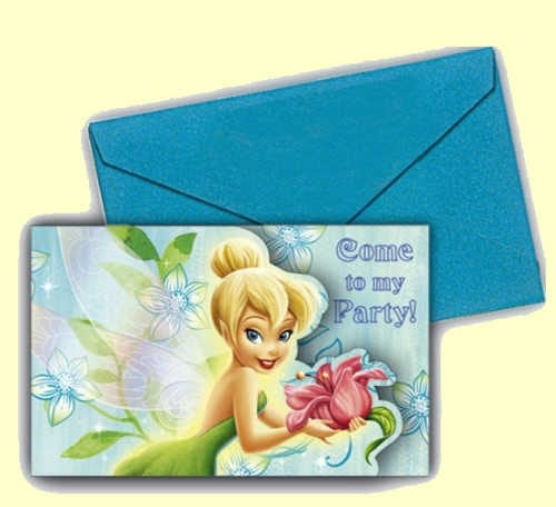 Tinkerbell Party Invitations Uk