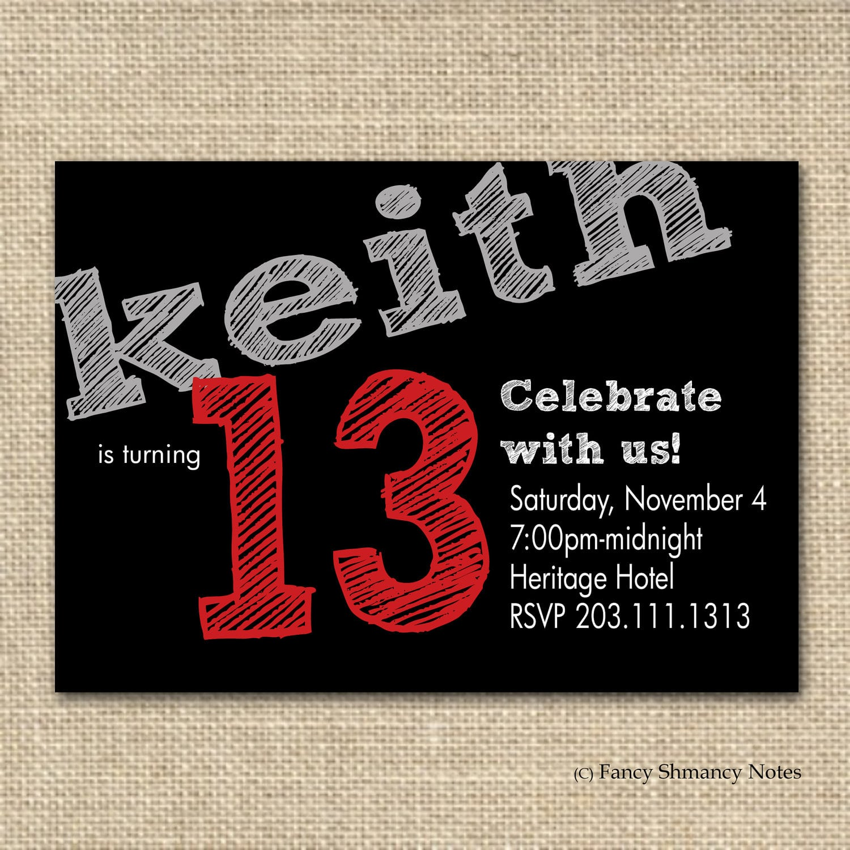 Tween Birthday Invitation Template Free