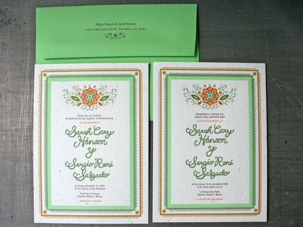 Wedding Invitation Wording In Spanish And English