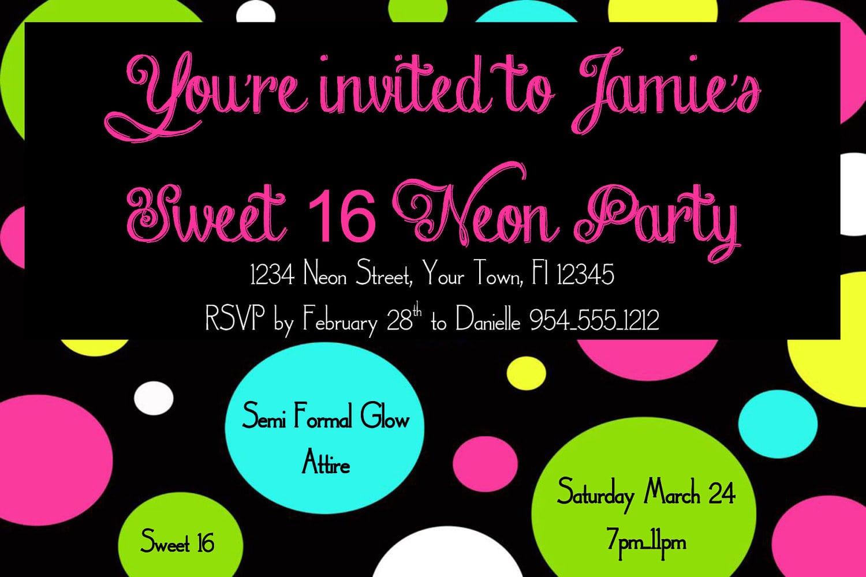 16 Birthday Invitation Templates Free