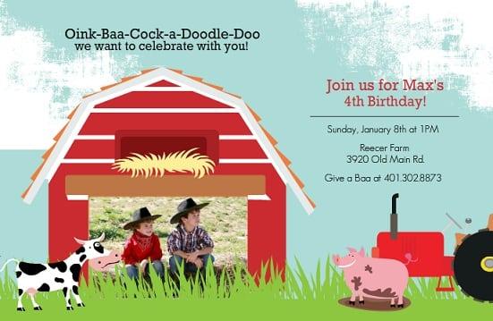 39;s Birthday Party Invitation Cards