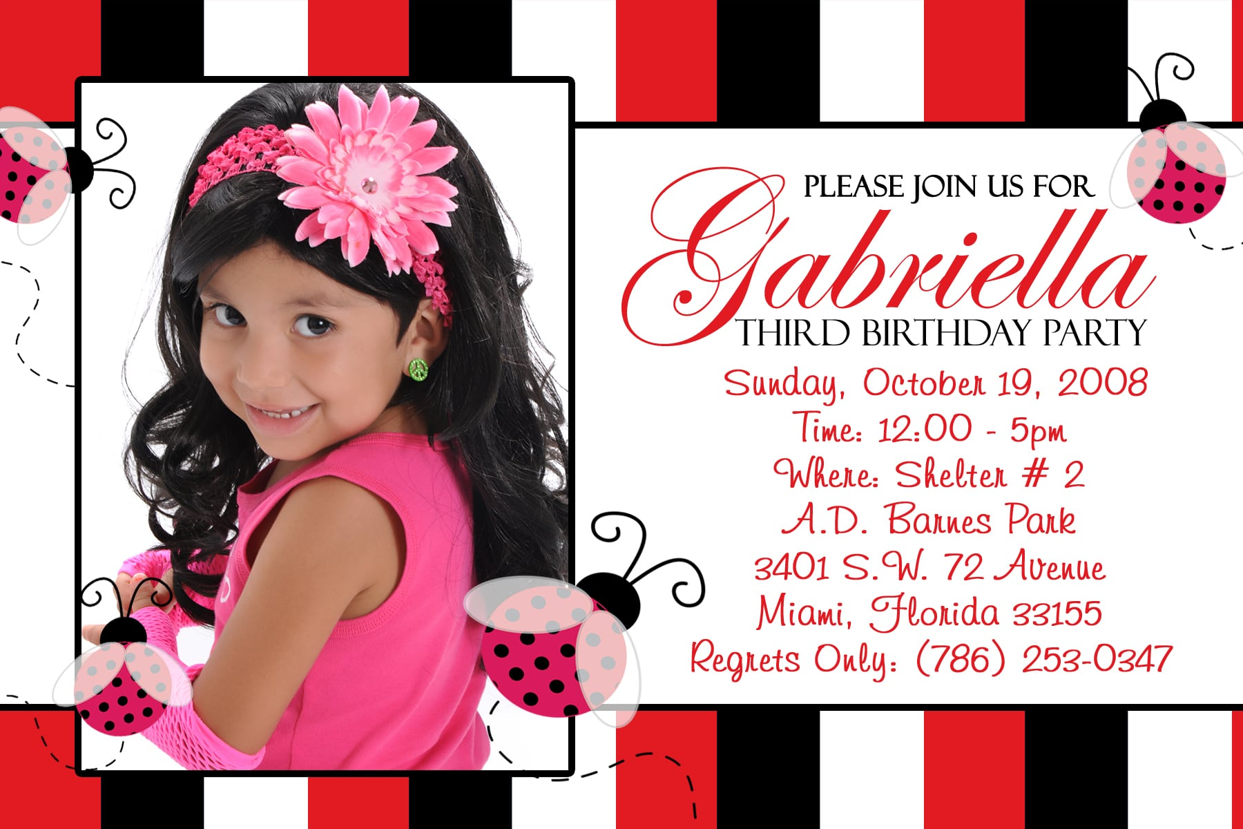 Girls 7th Birthday Party Invitations amp Announcements
