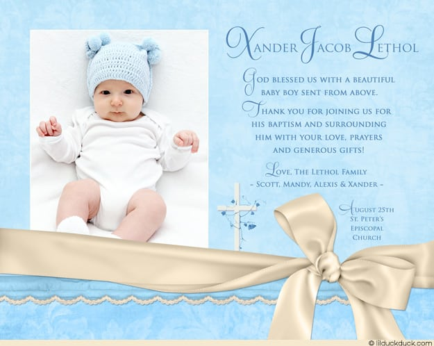 Baby Baptism Invitations | ctsfashion.com