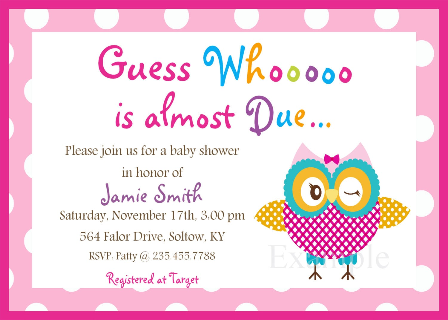 Baby Shower Invitations Free Printable For A Girl