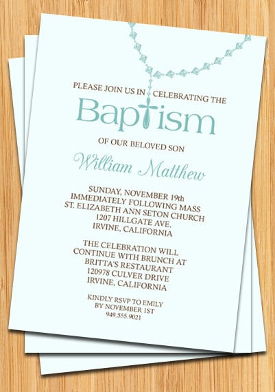 Baptismal invitation for baby boy download stopboris Images