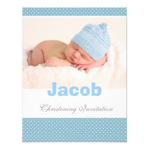 Baptismal invitation for baby boy stopboris Images