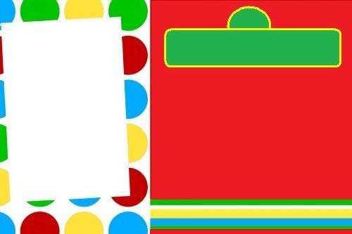 Blank Elmo Invitation