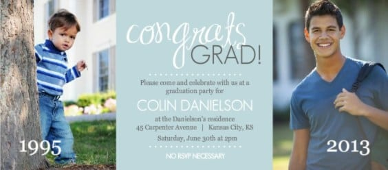 College Graduation Party Invitation Wording Examples