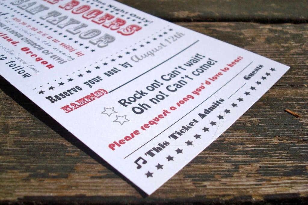 wedding ticket invitation template - Romeo.landinez.co