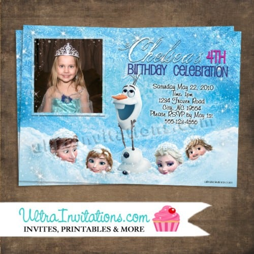 Disney Birthday Invitation Wording
